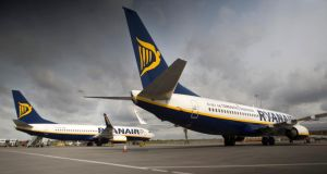 Ryanair said the winter schedule would operate at 6.35pm from Stansted on Fridays, with the return on Sunday at 8pm. Photographer: Simon Dawson/Bloomberg