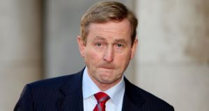 "Taoiseach Enda Kenny: ""Referendums are the ultimate exercise in democracy when the people are asked themselves to make decisions on constitutional issues."" Photograph:  Niall Carson/PA Wire"