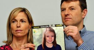 "Madeleine McCann's parents Gerry and Kate McCann said they were  ""greatly encouraged"" by new information about the disappearance of their daughter. Photograph: John Stillwell/PA Wire."