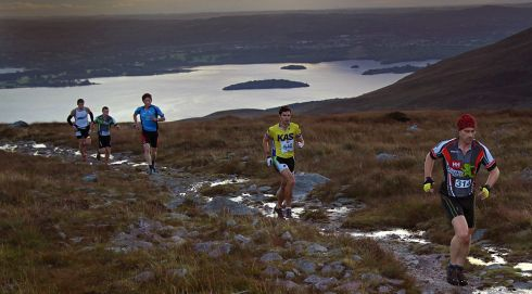 Competitors  in The Helly Hensen Killarney Adventure Race. Photo :Valerie O'Sullivan