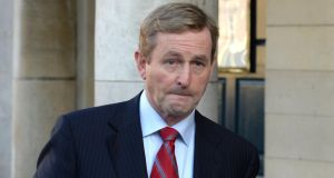 Taoiseach Enda Kenny needed to sell his idea and failed to do so. Photographer: Dara Mac Dónaill /The Irish Times