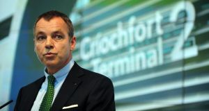 Aer Lingus chief executive Christoph Mueller criticised the notion that in Ireland, everything but a university education is seen as inferior. Photograph: Aidan Crawley/Bloomberg via Getty Images