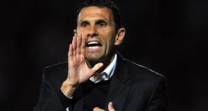 Gus Poyet, who is understood to be the new Sunderland head coach.