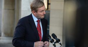 "Enda Kenny: he said yesterday he would look to see how the Seanad could become ""more effective"" and indicated he might favour a reform agenda that would take place without constitutional change. Photographer: Dara Mac Dónaill"