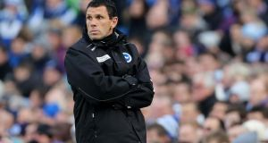 Gus Poyet has been appointed as the new Sunderland manager on a two-year deal. Photograph: Gareth Fuller/PA