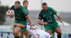 Brett Wilkinson in action for Connacht against the Ospreys. Photograph: Dan Sheridan/Inpho