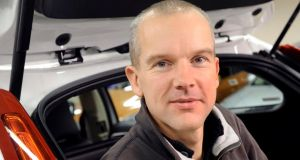 Safe hands:  Eric Coelingh, technical head of Volvo's active safety systems.