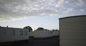 Asylum seeker accommodation in Athlone, Co Westmeath. Photograph: Rory O'Neill
