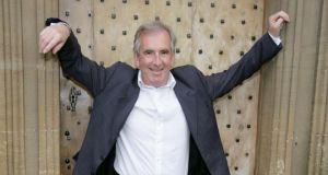 Robert Harris: trademark approach. Photograph: Geoffrey Swaine/Rex