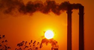 Ireland's greenhouse gas emissions in 2012 increased by 1 per cent to 57.92 million tonnes
