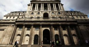 The Bank of England will probably leave stimulus unchanged today as the economic recovery gathers momentum. Photograph:  Yui Mok/PA Wire