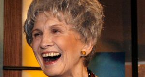 A 2007 file photograph of Canadian writer Alice Munro, who has won the Nobel Prize in Literature. Photograph: Mike Cassese/Reuters