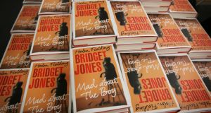 Helen Fielding's latest Bridget Jones book, Mad About The Boy. Photograph: Peter Macdiarmid/Getty Images