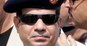Army Chief General Abdel Fattah al-Sisi:  the prime mover of the crackdown on the Muslim Brotherhood. Photograph: Reuters