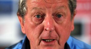 England Manager Roy Hodgson has a fully fit squad to choose from for his team's game in Montenegro. Photograph: Nick Potts/PA.