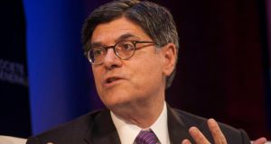 US Treasury secretary Jack Lew and Federal Reserve chairman Ben Bernanke assured their G20 counterparts at a dinner last night that a resolution would be reached to avoid a debt crisis. Photograph: Michael Nagle/Bloomberg
