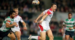 If they are to achieve success against a limited but dogged Leicester Tigers side in tonight's Heineken Cup encounter at Ravenhill, Ulster will need to play creative rugby, making full use of lively, skilled backs such as Tommy Bowe. Photograph: Chris Fairweather/Inpho