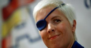 Marussia Formula One test driver Maria de Villota  was been found dead in a hotel in the southern Spanish city of Seville. Photograph:  Sergio Perez/Reuters