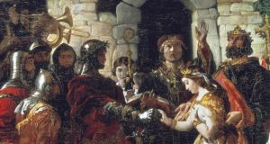 The Marriage of Strongbow and Aoife. Courtesy National Gallery of Ireland