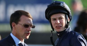 Trainer Aidan O'Brien and his son Joseph will be bidding for Dewhurst glory with War Command at Newmarket.