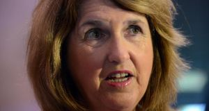 Minister for Social Protection Joan Burton: welfare cuts have been set a €300 million.
