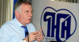 Ian Carter, the HSE's director of acute services: warned of further dysfunction if the Government kept taking money out of the system. Photograph: Dave Meehan.