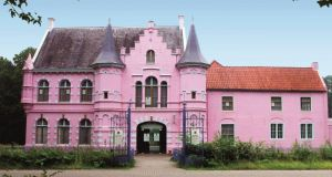 Pink castle in a theme park in Holland, one of the most unusual properties on Camelot's books