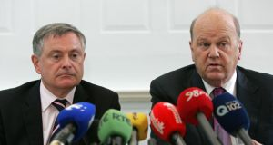 Brendan Howlin and Michael Noonan: there have been gains in credibility won by our delivery of what was promised.