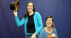 Ionia and Mairéad Ní Chróinín of Moonfish. Photograph: Eric Luke