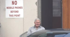 John Gilligan released from Portlaoise Prison this morning. Photograph: Alan Betson/The  Irish Times