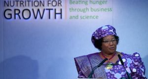 President of Malawi Joyce Banda:  her  handling of the scandal has damaged her reputation. Photograph:  Andrew Cowie/Getty Images