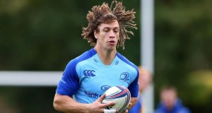 Zane Kirchner training with the Leinster squad. Photograph: Donall Farmer/Inpho