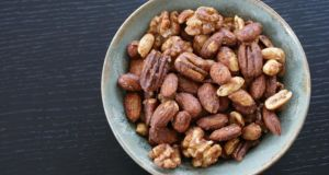 Nuts are nature's ulstimate fast food