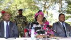 Malawian president Joyce Banda dissolved her entire cabinet because of a high-level corruption scandal. Photograph: Reuters