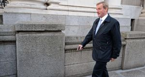 Taoiseach Enda Kenny and Tánaiste Eamon Gilmore both said this would be the last in the series of tough budgets since 2008. Photograph: Eric Luke