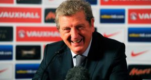 England coach Roy Hodgson. Photograph: Tom Dulat/Reuters