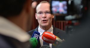 Minister for the Marine Simon Coveney. Photograph: Alan Betson/The Irish Times