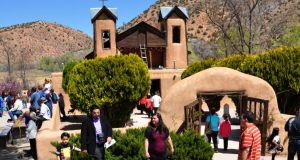 The Santuario de Chimayo   pilgrimage site where. Photograph: Robert Alexander/Archive Photos/Getty Images