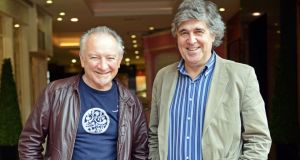 Donal Lunny and Paddy Glackin. Photograph: Eric Luke
