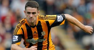 Hull City's Robbie Brady.  Photograph: Richard Sellers/PA Wire