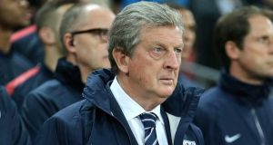 "England manager Roy Hodgson ""has and deserves the full support"" of the Football Association following a joke he made at half-time of the World Cup qualifier against Poland on Tuesday, FA chairman Greg Dyke has said. Photograph:  Nick Potts/PA Wire"