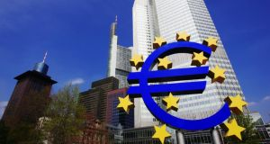 The European Central Bank in Frankfurt.  German economists said only limited direct ESM recapitalisations should be allowed when a euro zone banking union is established.
