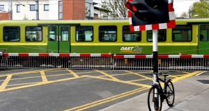 "A monthly ""short hop"" ticket covering rail, Dart, Dublin Bus and Luas services will cost under €220 a month. Photograph: David Sleator"