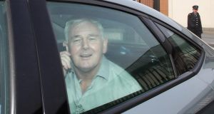 New order: John Gilligan leaving Portlaoise  Prison on Monday. Photograph: Colin Keegan, Collins