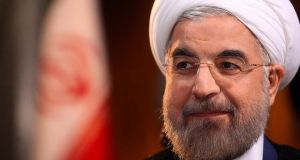"President Hassan Rouhani: offered the Bush administration a ""grand bargain"" back in 2003/2004. Photograph: Reuters"