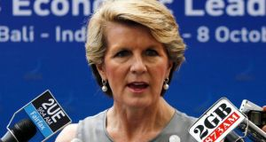 "Liberal MP Julie Bishop is involved in an expenses scandal that saw her and others claim ""overseas study"" allowances to pay for flights home from a wedding in India. Photograph: Reuters"