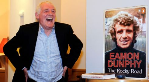 The writer and broadcaster Eamon Dunphy at the launch of his  memoir 'The Rocky Road' was in Restaurant Patrick Guilbaud,  Dublin, during the week. Photo: Dave Meehan