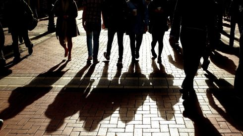 Shoppers in Grafton Street, one of the Dublin's busiest shopping thoroughfares.Photo: David Sleator/THE IRISH TIMES