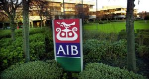 AIB has confirmed that outsourcing is under consideration as part of a broader strategy to reduce costs. Photograph: Bryan O'Brien