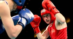 Flyweight Paddy Barnes won through in Kazakhstan. Photograph: Inpho